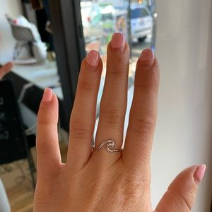 Francesca's Wave Ring